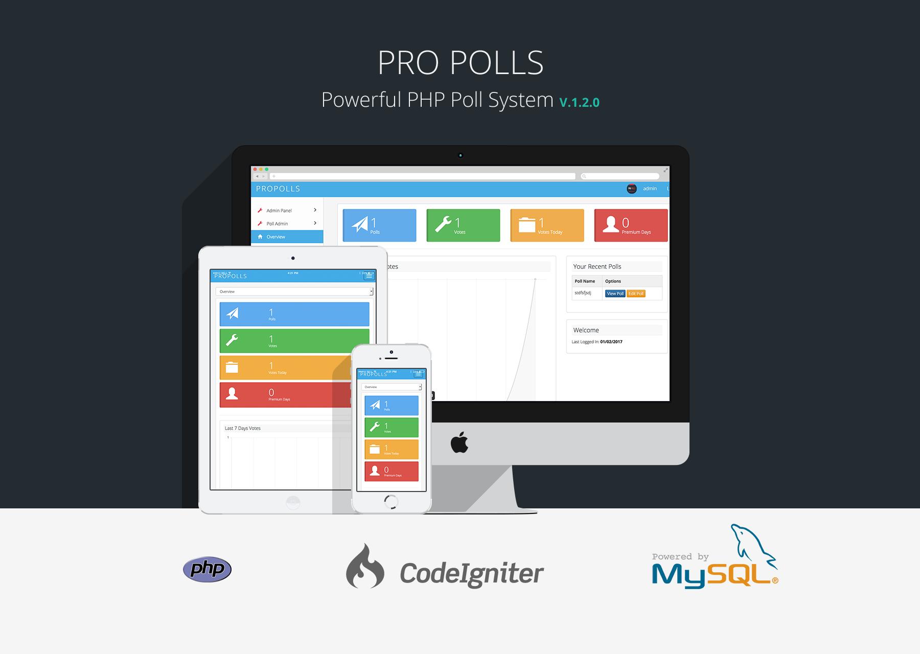 Pro Polls - PHP Poll Vote Script - 1