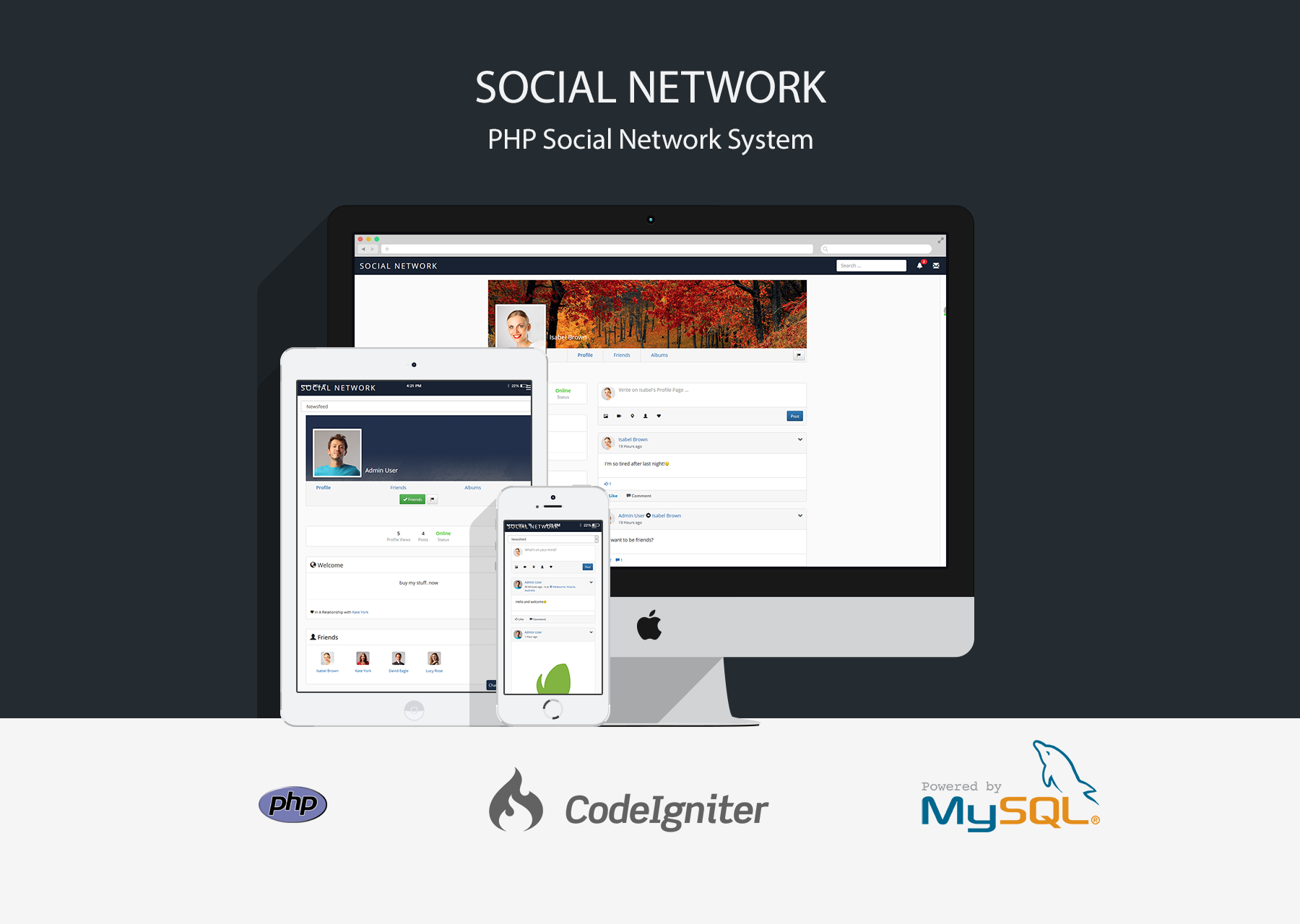 Social Network - PHP Social Networking System - 1