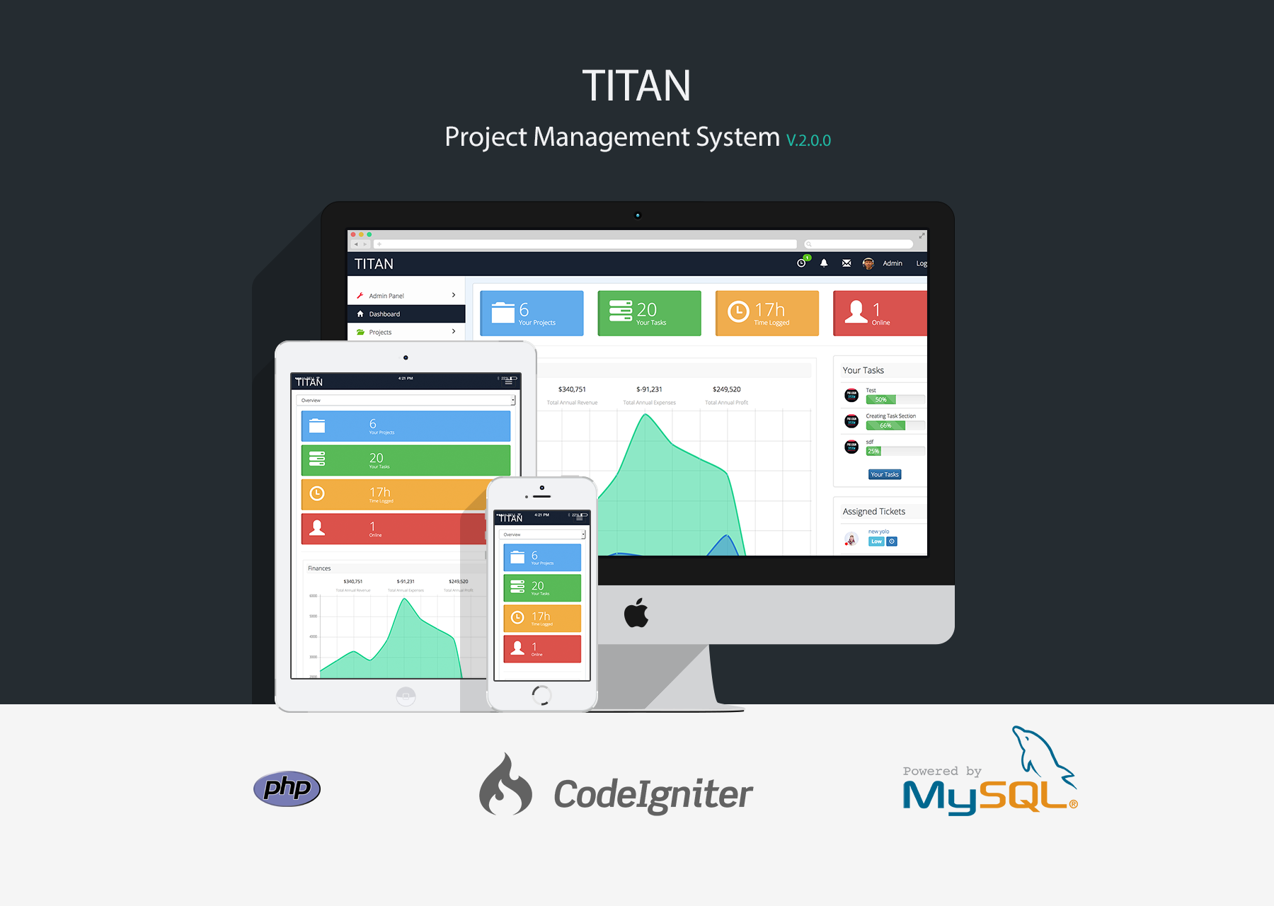 TITAN - Project Management System - 1